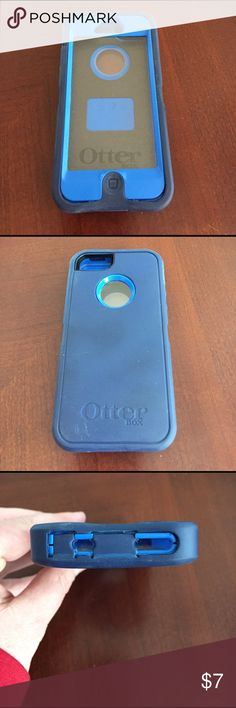 Otter Box Defender Life Proof Case iPhone 5 Used Otter Box Defender Case for iPhone 5 Life Proof. Has signs or normal use but otherwise Good Condition. Outer piece slightly torn in one spot (see pic with pencil) OtterBox Other