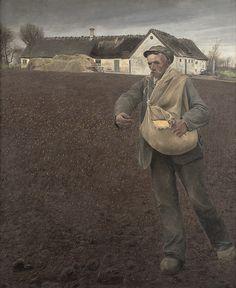 L.A. Ring, Sædemanden, 1910,