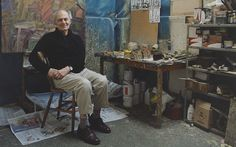 Frank Auerbach, 82, is still tirelessly painting and repainting the same few   familiar people and local scenes, only taking one day off a year. Hannah   Rothschild interrupted him to find out what drives him.