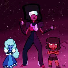 Rafael Merce: Desenho - Garnet - Steven Universo