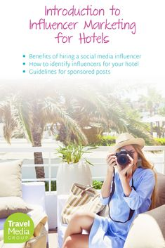 Read about the benefits of hiring a social media influencer to promote your hotel. Social Media Influencer, Influencer Marketing, Social Media Marketing, Travel, Viajes, Destinations, Traveling, Trips