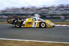 Le Mans 1985: Klaus Ludwig, Henri Pescarolo and John Winter in a Porsche 956, 1st overall