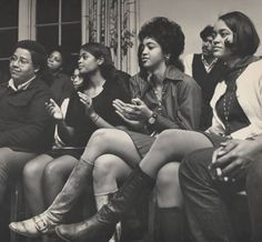Group of African-American Students :: Archives & Special Collections Digital Images :: ca. 1970s