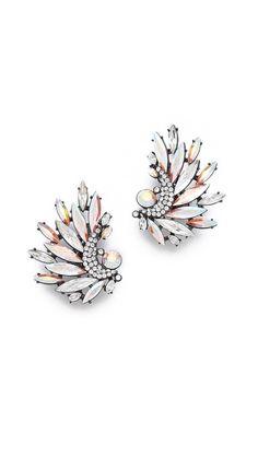Jenny Packham Icarus Clip On Earrings I