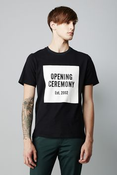Opening Ceremony OC Logo T-Shirt | Static Multimedia > Gallery