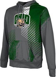 Deco School Spirit Sweatshirt ProSphere Ohio University Womens Zipper Hoodie