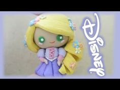 Disney Princess RAPUNZEL from TANGLED  Clay tutorial ___YouTube