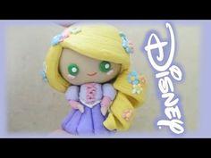 Disney Princess Rapunzel from Tangled Clay tutorial