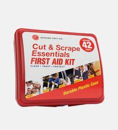 Genuine First Aid kit 42 pcs Hard case