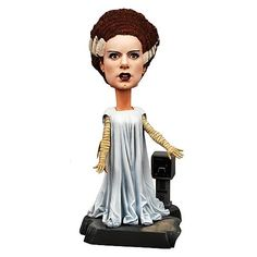 Bride of Frankenstein Universal Monsters Bobble Head - I'm completely married to the classic Universal Monsters and anything related to them. This would look really cool on the dash of any car, especially a black one.