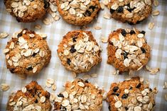 Banana + Oatmeal Cookies Recipe Desserts with bananas, ground cinnamon, rolled oats, dry coconut, cranberries, honey, macadamia oil