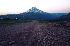 road to Mutnovsky