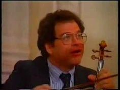 Violinist Itzhak Perlman gives a Russian masterclass - The Strad