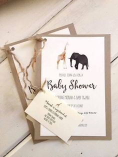 Looking for ideas for a gender neutral baby shower? Kara's Party Ideas presents an inspirational Boho Safari Baby Shower. Baby Shower Boho, Fotos Baby Shower, Fiesta Baby Shower, Gender Neutral Baby Shower, Baby Shower Cards, Baby Shower Parties, Baby Shower Themes, Shower Ideas, Baby Shower Safari