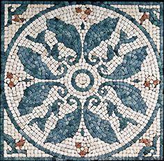 mosaic tile designs. fish.