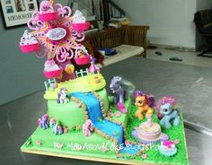 Mad About Cake: My Little Pony Cake