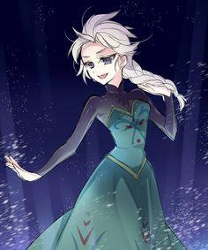 Anime Elsa