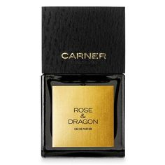 Rose + Dragon EAu de Parfum by CARNER BARCELONA. Top Notes: Persian Saffron, Cumin Essence, Wild Strawberry Accord, Cinnamon Leaves Heart Notes: Bulgarian Rose Essence, Turkish Rose Absolute, Manuka Honey, Ethiopian Frankincense Extract Base Notes: Castoreum, Leather Accord, Andalusian Labdanum Resin, Amber