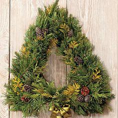 Tree Form Wreath