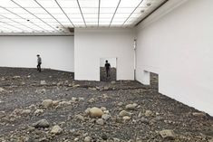 Gallery of Olafur Eliasson Creates an Indoor Riverbed at Danish Museum - 4