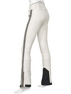 Perfect ski pants (aside from being white)