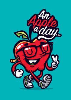 Apple A Day by cronobreaker.deviantart.com on @deviantART