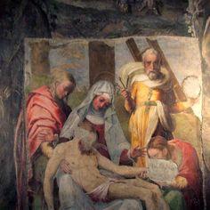 Die Pietà von Perin del Vaga in Santo Stefano del Cacco