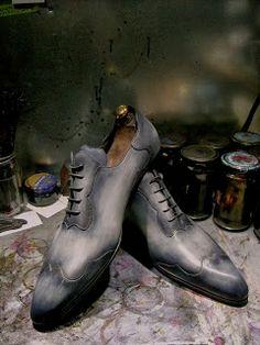 Paulus Bolten Shoe Boudoir Souliers & cuirs patinés: Ajuster vos souliers et votre patine au conditions...