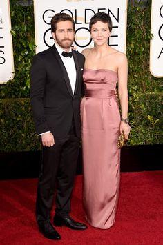 Pin for Later: Seht alle Stars auf dem roten Teppich bei den Golden Globes! Jake Gyllenhaal und Maggie Gyllenhaal