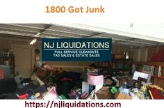 Are you stuck with junk because this is most common and hard problem that should be remove to make stuffs clean and save them from spoiling. We have wonderful way to remove junk from because our experts are available for you and available on njliquidations.com; so must hire them for #1800 #got #junk.