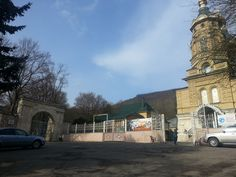 Пятигорск. Церковь и вход на старое городское кладбище