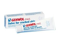 Gehwol Med Salve for Cracked Skin: http://beautyeditor.ca/2012/07/16/gross-dry-callused-feet-you-need-this-trust-me/#