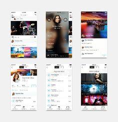 VK App for iOS7 - by Alex Sekachov | #ui