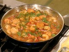 Venetian Shrimp and Scallops recipe from Rachael Ray via Food Network