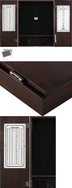 Dart Boards 72576: Viper Metropolitan Sisal/Bristle Steel Tip Dartboard  Cabinet: Cabinet Only