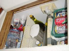 Some good ideas for organizing the galley