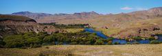 Anfiteatro, Rio Limay, Neuquen province, Patagonia. Argentina.