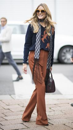 Olivia Palermo. 60 Chic Fall Outfit Ideas