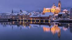 Solothurn - Winter in the Baroque town, Switzerland Quality Time, Switzerland, Taj Mahal, Travel Tips, Vacation, City, Building, Places, Baroque