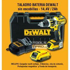 Taladro bateria Dewalt sin escobillas - 14,4V / 2Ah