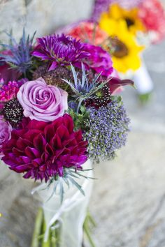 Flowers are great addition to any event and it doesn't have to be expensive.