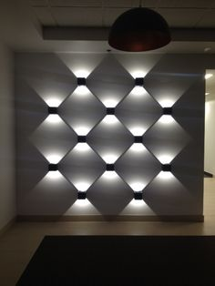 View by night in Ireland - Fantastic lines of light created using Dice from Prolicht