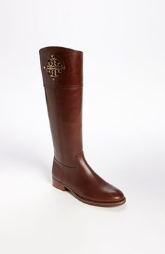 Never ending search for the perfect riding boot.  This might be it!  Tory Burch Keirnan Boot | Nordstrom