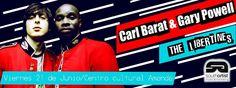 Chicos nos van quedando las últimas entradas sin recargo para Carl Barat & Garay Powell (The Libertines).  https://www.facebook.com/events/456957427716978/