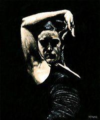 Flamenco Art - Flamenco Soul by Richard Young