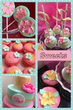 Pink gold & mint party