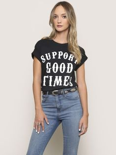 Support Good Times Tee - Gypsy Warrior