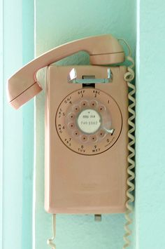 Western Electric Wall mount dial telephone Vintage Atomic