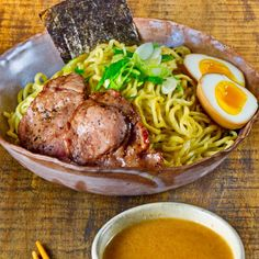 If you love Ramen noodle, it is time to make your own Tsukemen noodle! Warm up with this hot and spicy noodle soup!