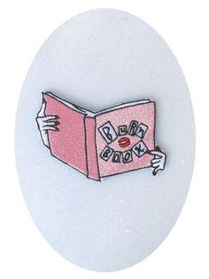 The Burn Book Patch by TreatYoselfMotel on Etsy